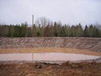 Ponds - Land Clearing - Riding Ring Construction