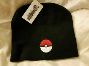 ARCADE BLOCK POKEMON POKEBALL BEANIE - BRAND NEW