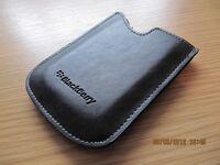 BlackBerry GENUINE LEATHER POCKET CASE