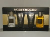 Brand new Men's Baylis & Harding 4 Piece Toiletries Gift Set