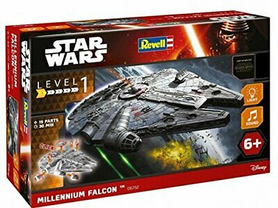 Revell Star Wars Build & Play EasyKit Millennium Falcon Model Falcon Easy Kit