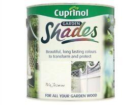 CUPRINOL GARDEN SHADES - PALE JASMINE - 2.5LIT