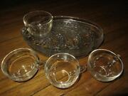 Glass Snack Plates