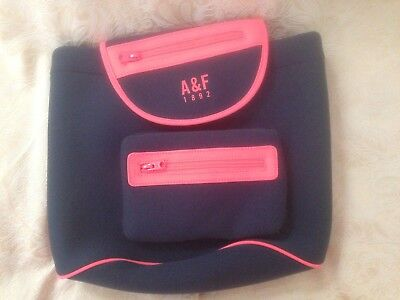 Abercrombie & Fitch Back Pack. Blue/ Pink