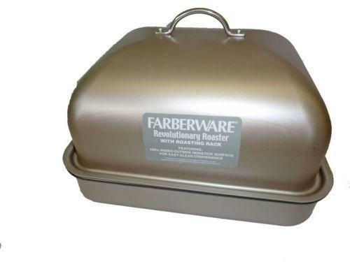 Covered Roasting Pan Kitchen Dining Amp Bar Ebay