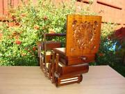 Large Vintage Wooden Box