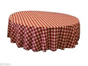 Checkered Tablecloth