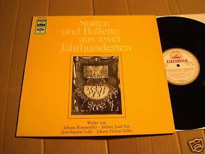 SUITEN UND BALLETTE AUS ZWEI JAHRHUNDERTEN - LP (2)