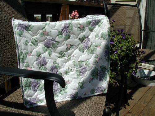 pfaltzgraff Grapevine Bread Maker Appliance Cover Cotton Blend Floral LAST ONES