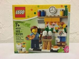 LEGO Painting Easter Eggs Set # 40121 - RETIRED - UNOPENED