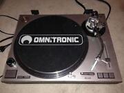 Omnitronic Plattenspieler