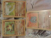 X27 Original 1995 1ST edition Pokemon Cards Mint condition