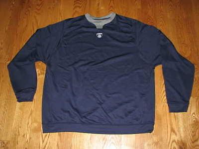 NEW Mens NFL Equipment REEBOK Thermal Sweatshirt Size M Navy Blue Sideline