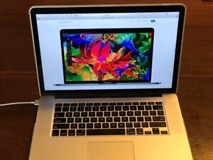 MacBook Pro 15 Retina Late 2015 i7 2.8 GHz 16GB RAM 1TB SSD Rasmussen Townsville Surrounds Preview