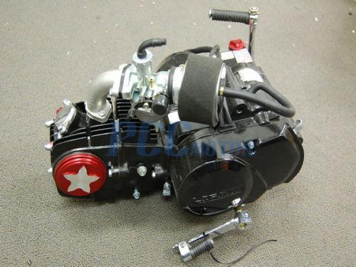 on Lifan 125cc Motor Engine
