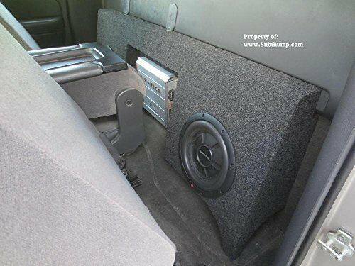 99-06 Silverado/Sierr Regular Cab Dual 12 Sub Box With Amp Space by Subthump