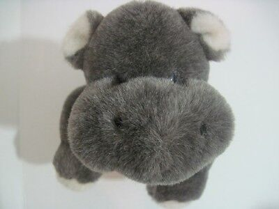 """The Boyds Collection Plush Hippo 13-1/2"""" Long Jointed 1988-2002"""