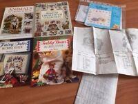 Cross Stitch Kits, Patterns Yarn, Hoops etc etc