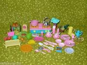 Barbie Food Lot