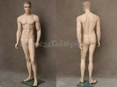 Realistic Male Mannequin With Molded Hair Mz-wen3