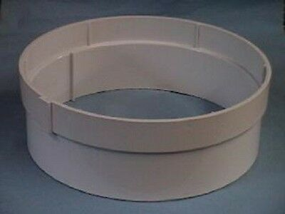 Hayward SP1084P1 Adjustable Collar Swimming Pool Skimmer Round Extension Collar