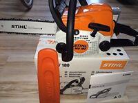 Stihl MS180 180 chainsaw