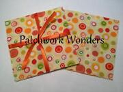 Yellow Polka Dot Fabric