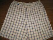 Mens Abercrombie Plaid Shorts