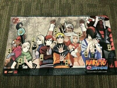Official Bandai Naruto TCG/CCG Authentic *Jinchuuriki* Mat/Playmat Cardmat