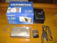 Unused Olympus Camedia D-380 Digital Camera