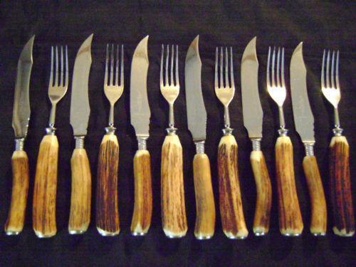 Stag Horn Cutlery Ebay