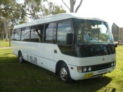 MITSUBISHI ROSA 2006 MODEL BUS WITH WHEELCHAIR LIFT EX GOVERNMENT Pialba Fraser Coast Preview