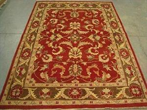 Exclusive Chobi Zeigler Mahal Traditional Designed Area Rugs Vege Dyed Hand Knotted Carpet (8.1 x 5.10)'