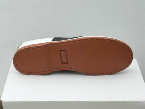 Muffy's Classic Black/white leather Saddle Shoes  US Women's sizes 5-12 (#250) 1