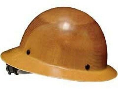 New Msa Safety Works 475407 Skullgard Hard Hat Fast-trac Suspension Full Brim