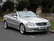Mercedes CLK Convertible Auto