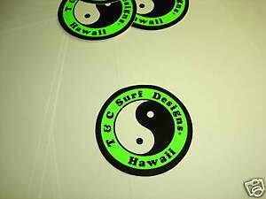 Vintage 80's original T&C Surf Designs sticker  NOS