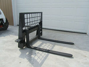 wanted skid steer pallet forks. used $$$