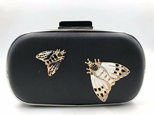 Sale!!!3D Honey Bee Evening Bags and Clutches for Women Blac