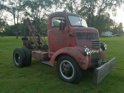 1946 Chevrolet Other Pickups  1946 Chevy COE Rat Rod Wrecker Tow Truck Manley Weaver Cab Over Engine Antique