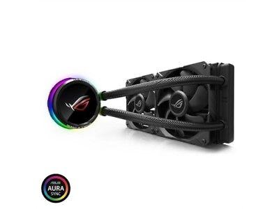 ASUS ROG RYUO 240 RGB AIO Liquid CPU Cooler 240mm Radiator D