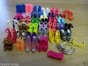 Barbie Shoes Lot