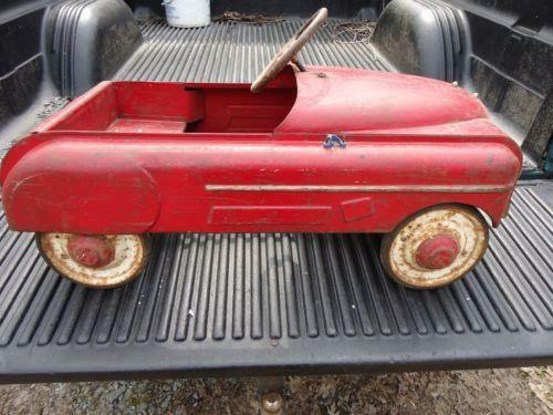 Vintage Pedal Car Parts : Cars parts antique pedal