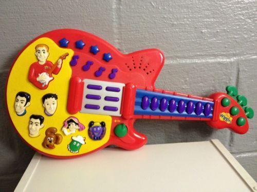 Wiggles Guitar Ebay