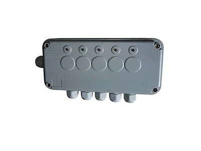 Remote Controlled 5 Gang Switch Box IP66  Weatherproof Outdoor (IP665G)