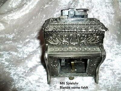J)  Altes  Tischfeuerzeug /Feuerzeug  mit Spieluhr online kaufen