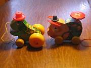 Vintage Fisher Price Little People Pig
