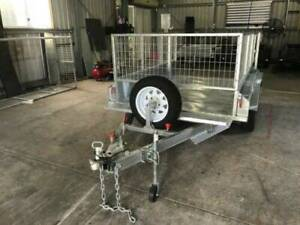 9X5 GAL TANDEM AXLE TRAILER | 3FT CAGE | FULL CHECKERPLATE | TRAILER Rangewood Townsville Surrounds Preview