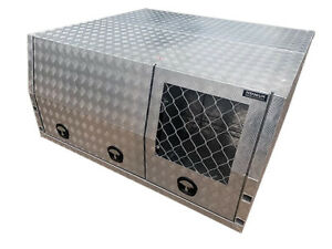 1800 Jack-off Canopy with Dog Box - Checker or Flat $46p/w Garbutt Townsville City Preview