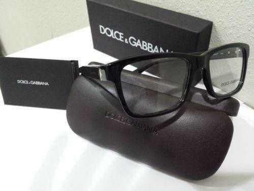 c8d897fdd611 Dolce and Gabbana Black Eyeglass Frames